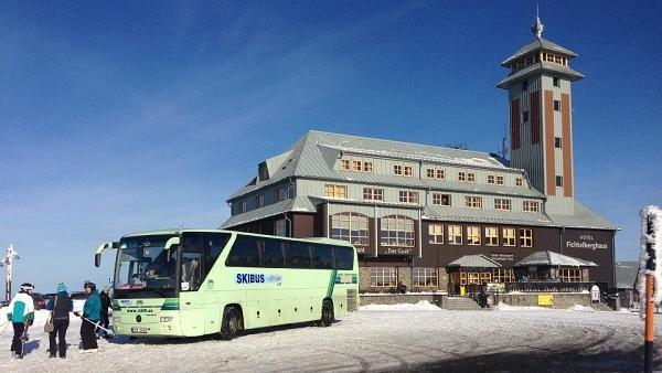 Skibus Interskiregion Fichtelberg - Klínovec