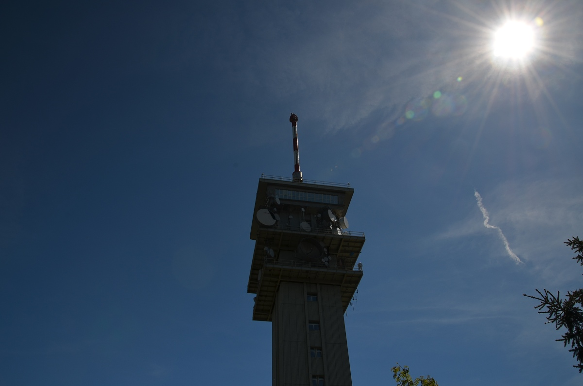 Vysílač na Klínovci   Krušnohorci