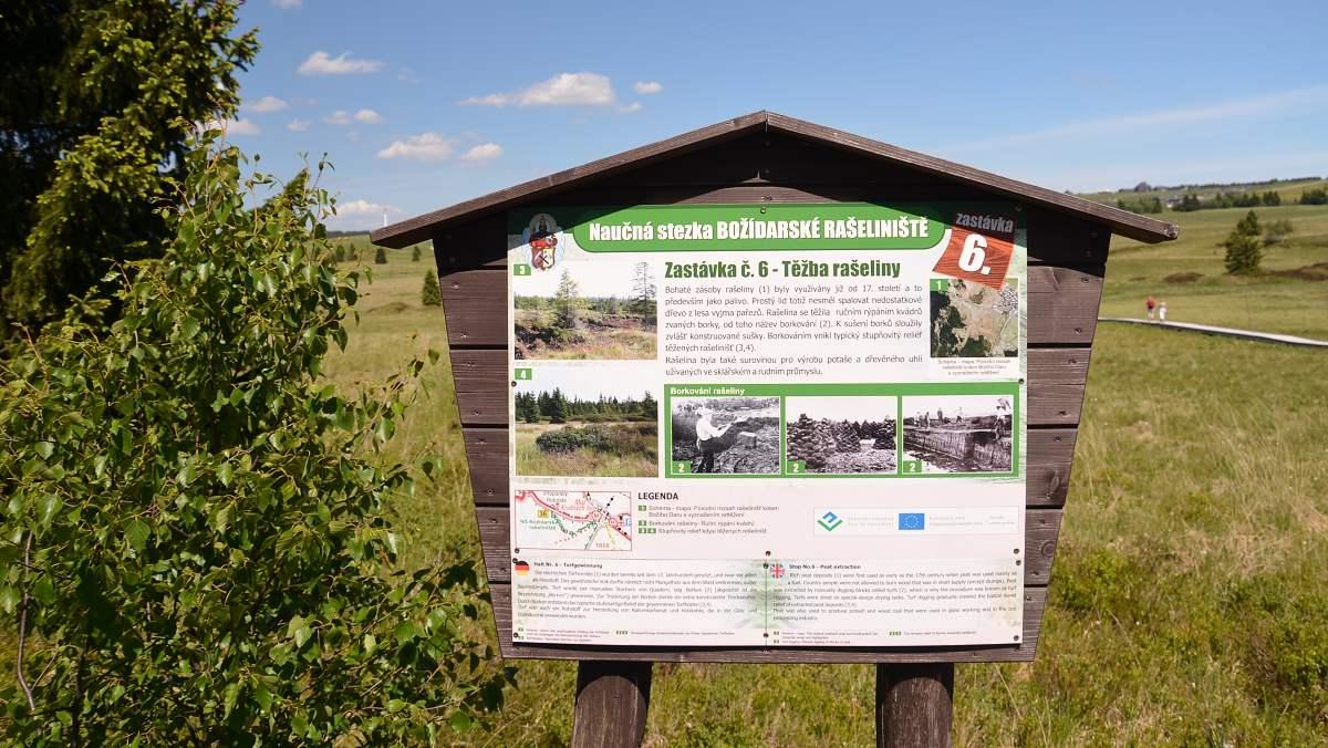 Těžba rašeliny | Krušnohorci
