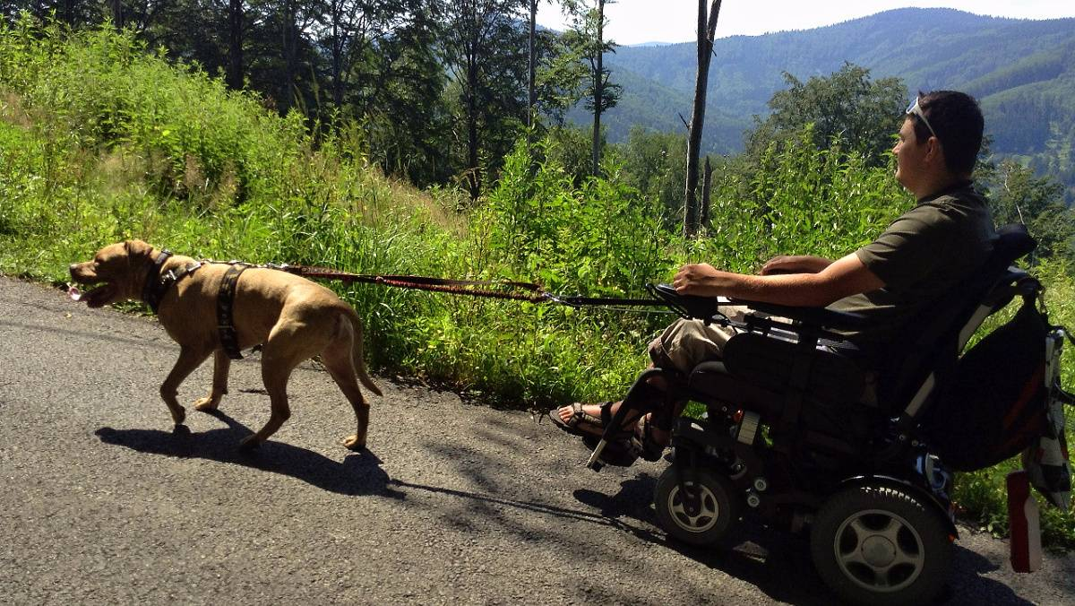 Desatero rozumného vozíčkáře o chování na horách
