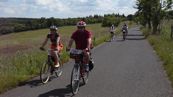 Valdštejnova turistická cyklostezka Cheb - Marktredwitz
