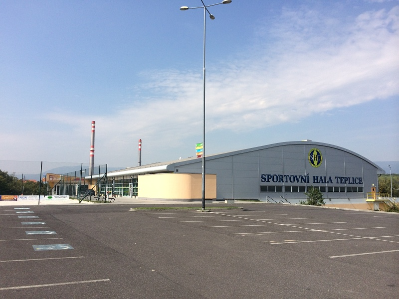 Sportovní hala v Teplicích | Krušnohorci