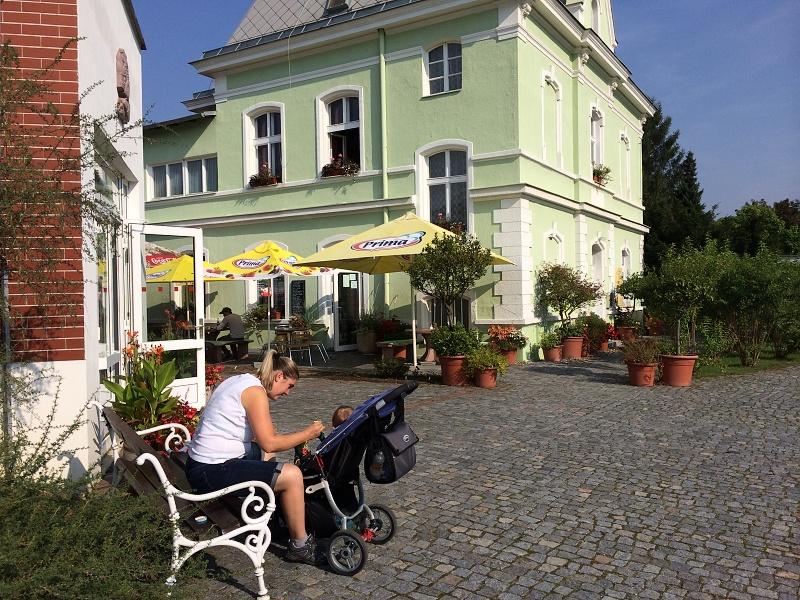 Cukrárna, Botanická zahrada v Teplicích | Krušnohorci