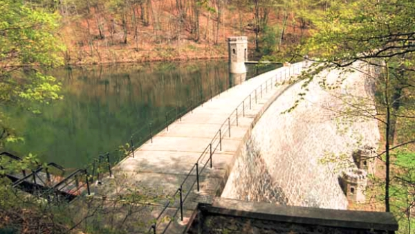 Vodní dílo Jezeří  |  Povodí Ohře