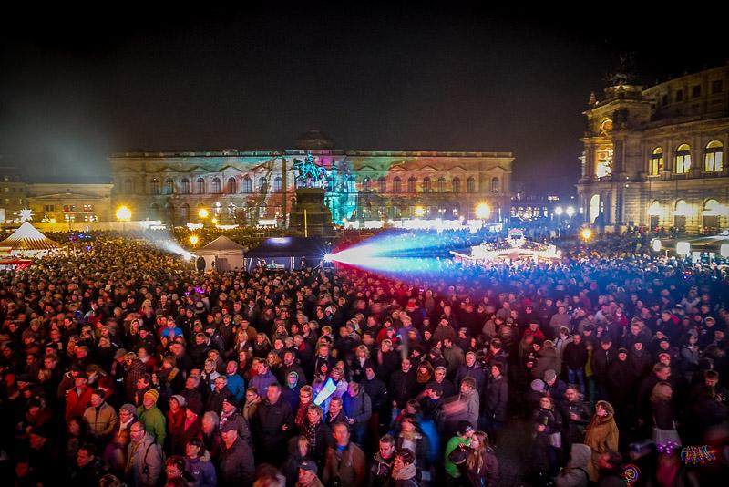 Silvestr v Drážďanech | www.silvester-theaterplatz.de