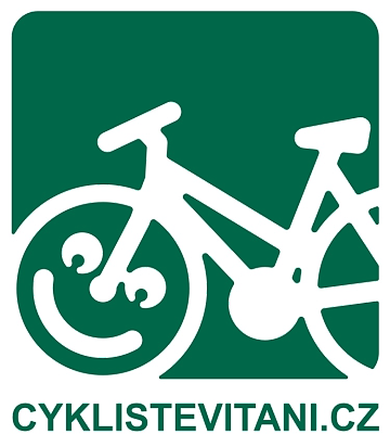 Cyklisté vítáni logo | Krušnohorci