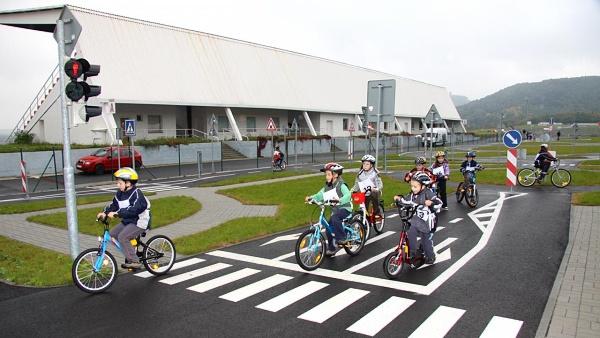 Dětské dopravní hřiště Polygon Most