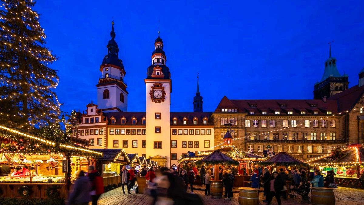 Weihnachtsmarkt Chemnitz  |  Stadt Chemitz