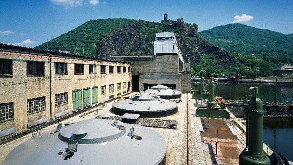 Vodní elektrárna Střekov
