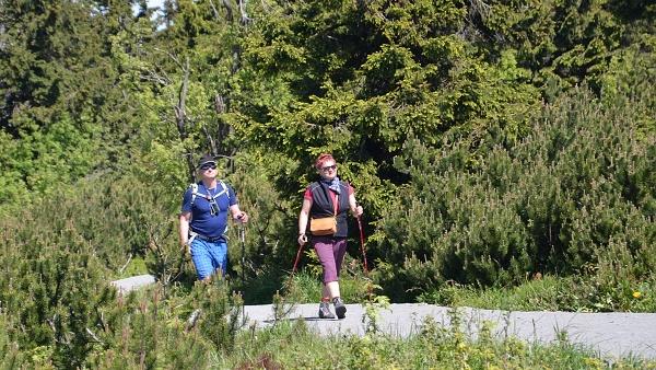 Nordic Walking v Krušných horách  |  Krušnohorci