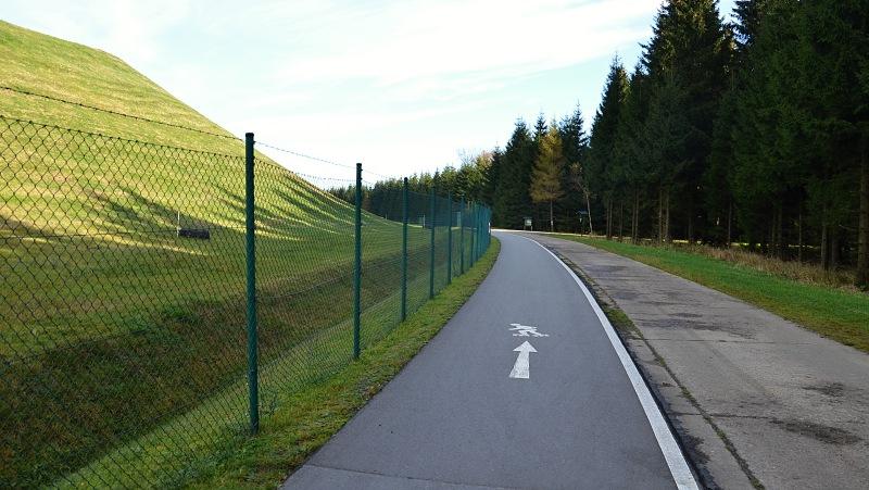 In-line dráha Oberbecken Markersbach | Krušnohorci