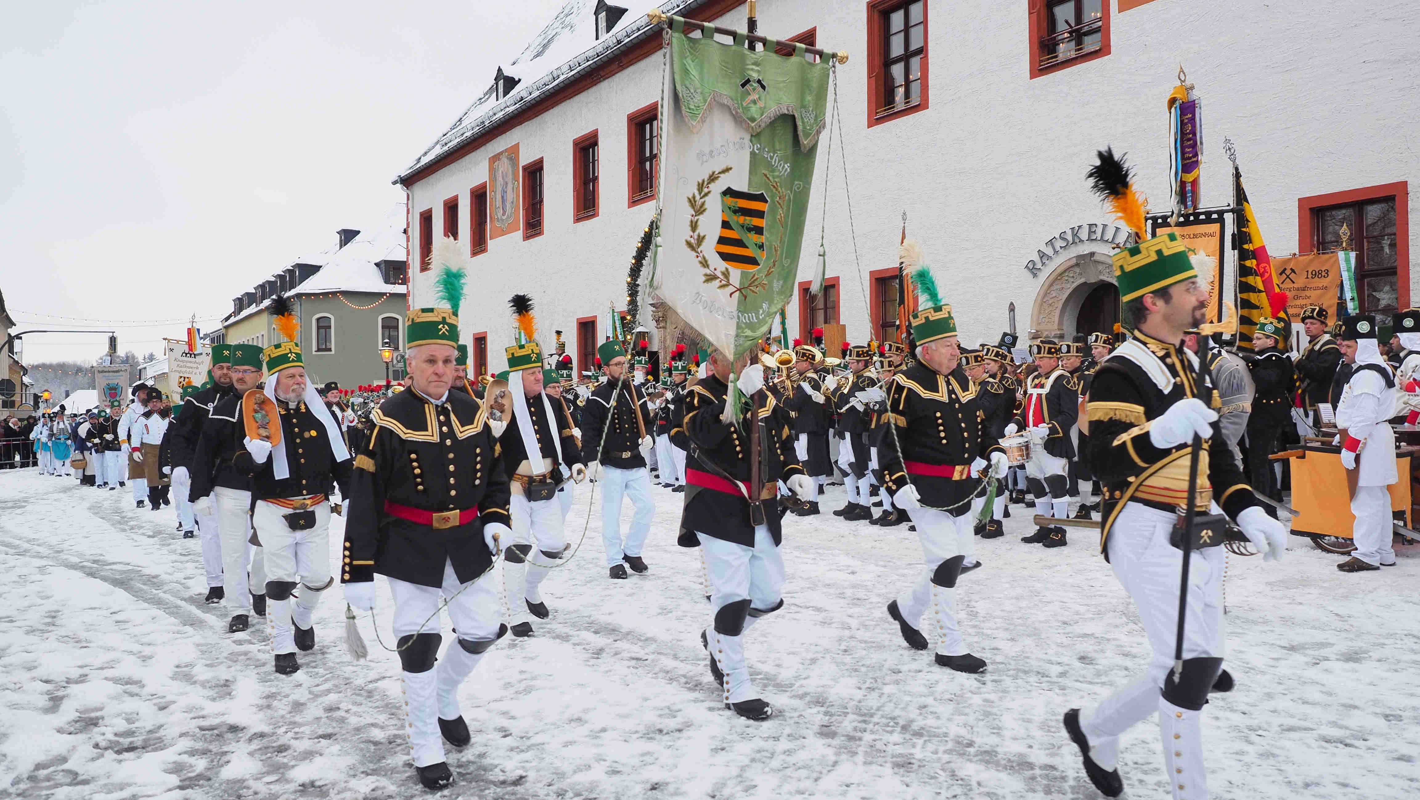 Bergparade Annaberg Buchholz