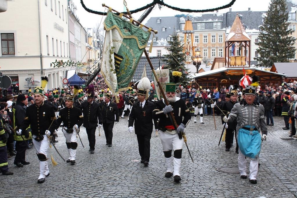 Hornické přehlídky Bergparaden