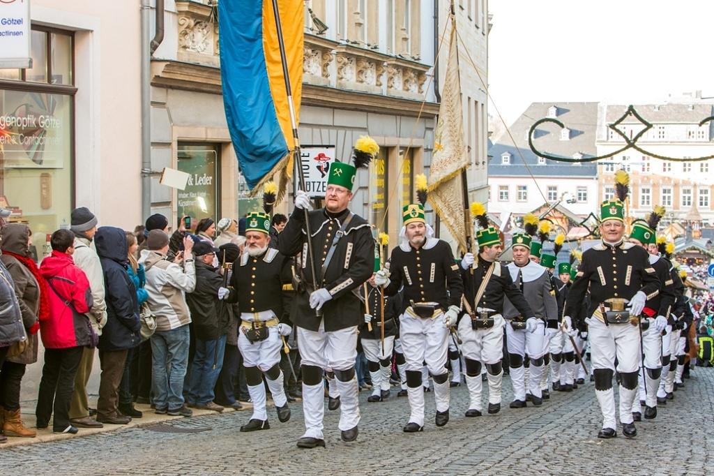 Hornické přehlídky Bergparade | Dieter Knoblauch