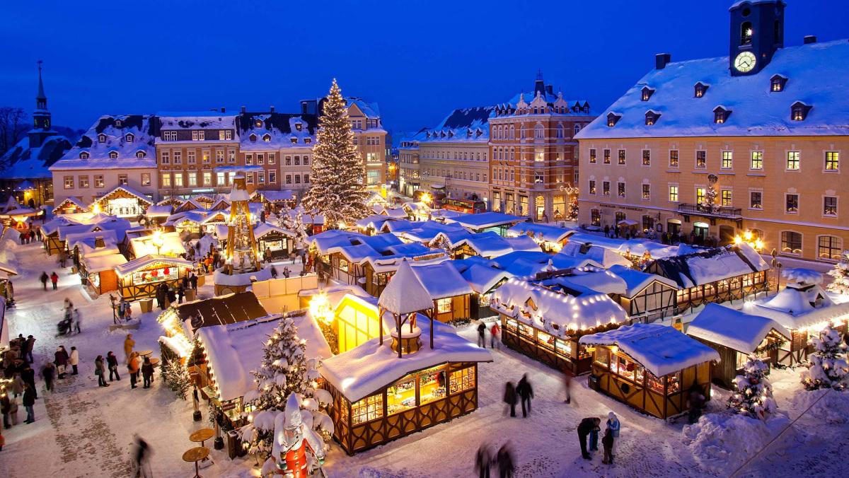 Vánoční trhy v Annaberg-Buchholz
