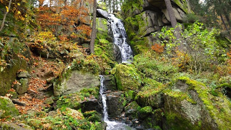 Wasserfall Blauenthal  |  -