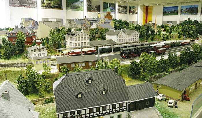 Modelová krušnohorská železnice | -