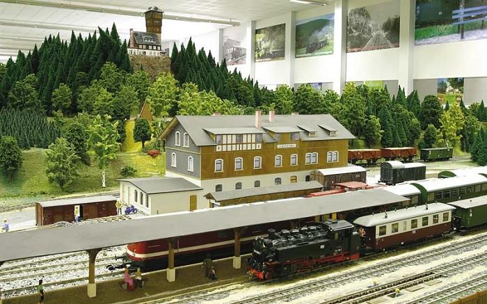 Model krušnohorské železnice / Cranzahl | -