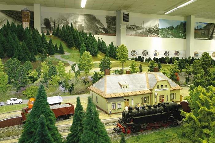 Model krušnohorské železnice | -