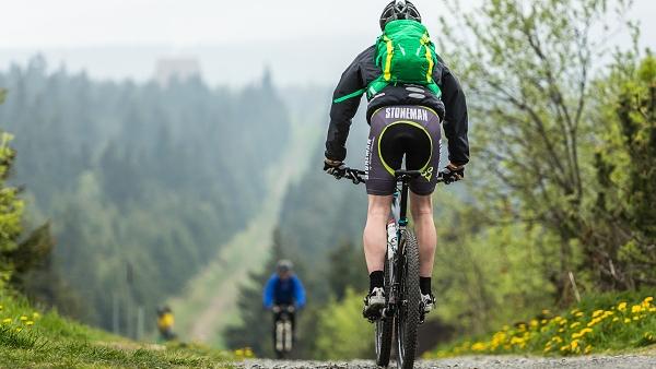 Přejezd Krušných hor na kole