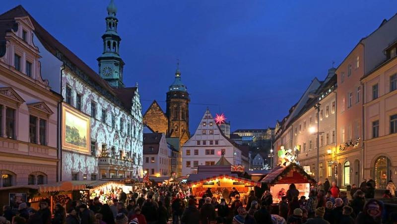 Vánoční trhy v Pirně | Canalettomarkt