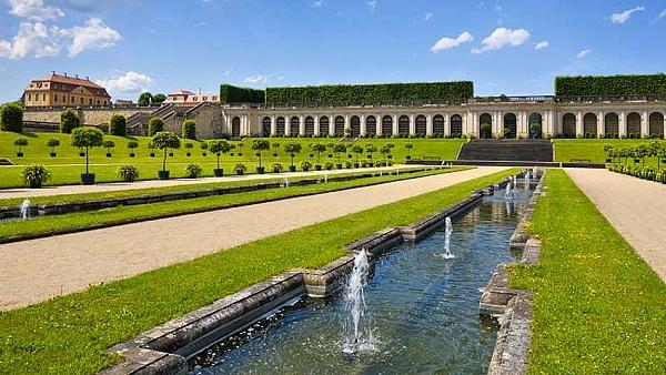 Barokní zahrada Großsedlitz