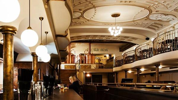 Restaurant und Brauerei Monopol - Gönnen Sie sich die Atmosphäre der Ersten Republik