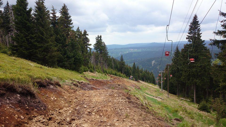 Downhill Klínovec