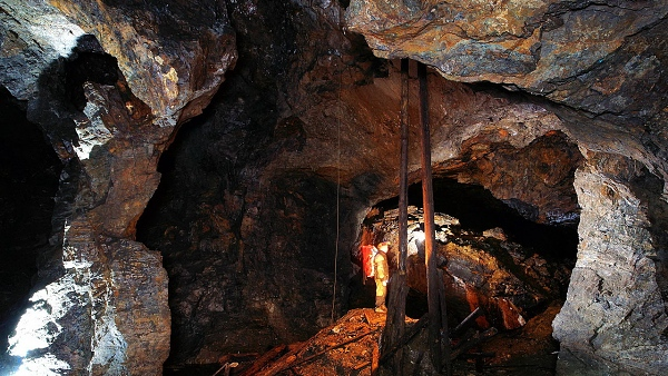500 Jahre altes Bergwerk - der Johannes Stolln
