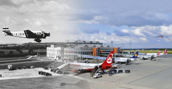 80 let letiště Drážďany
