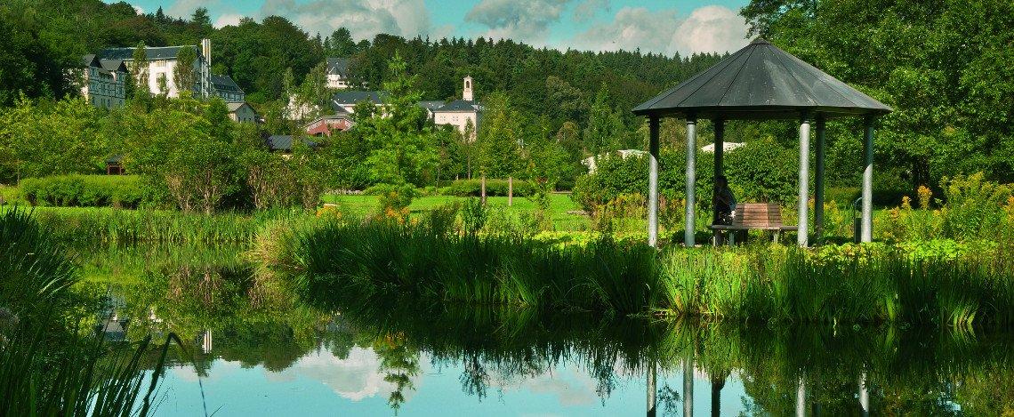 Lázeňský park | Thermalpark Wiesenbad