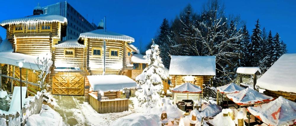 Saunawelt im Winter, Badegärten Eibenstock
