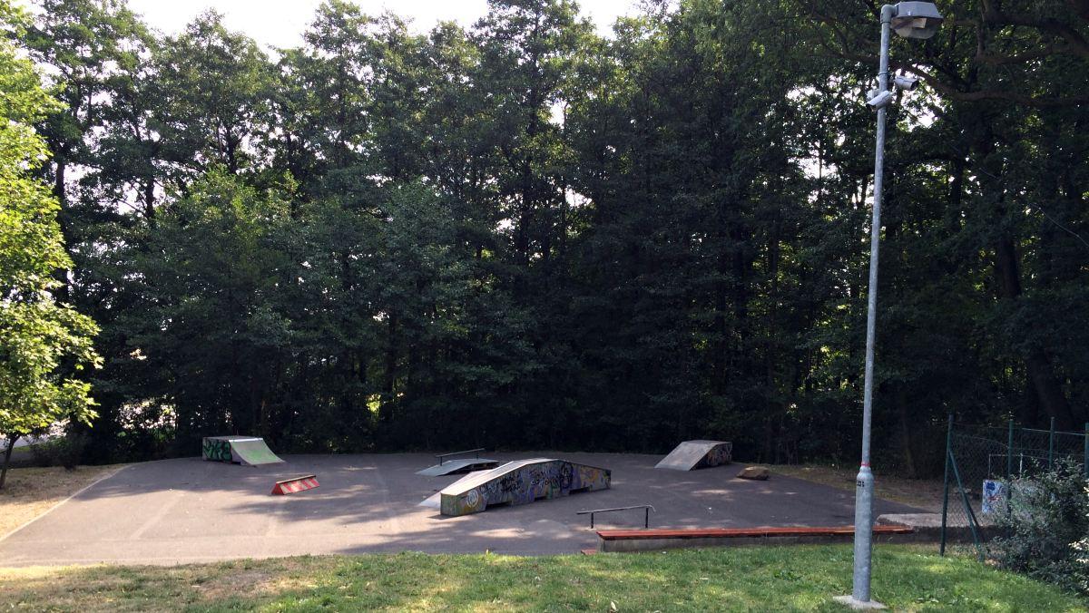 Skatepark u Oseckého koupaliště | Krušnohorci