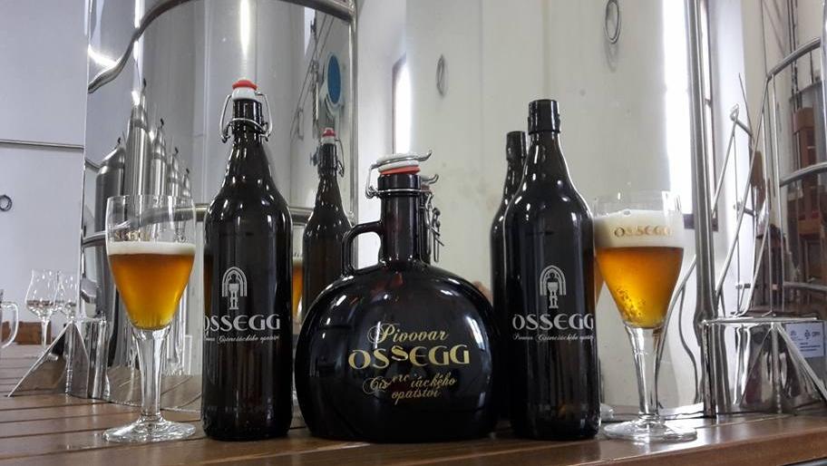 Sortiment Opatského pivovaru OSSEGG