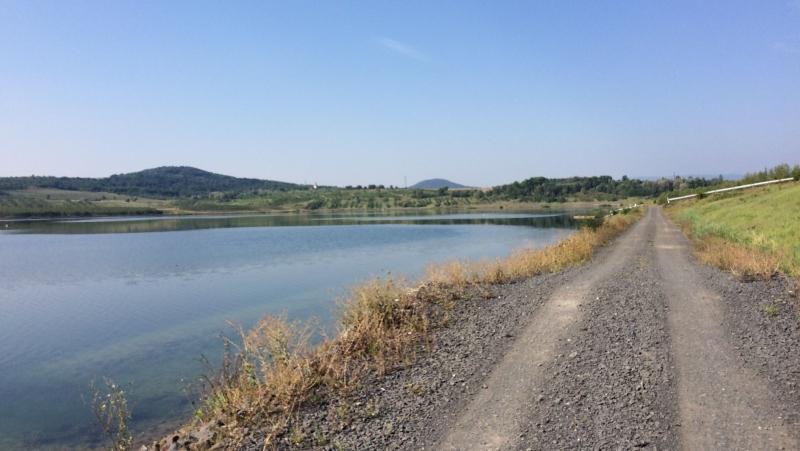 Jezero Milada, cesty | Krušnohorci