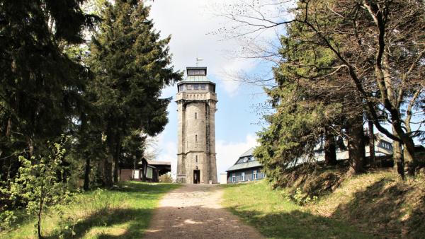 Rozhledna Auersberg | Krušnohorci
