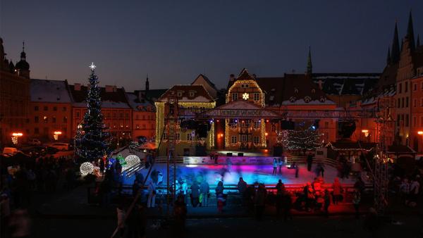 Weihnachtsmarkt in Eger
