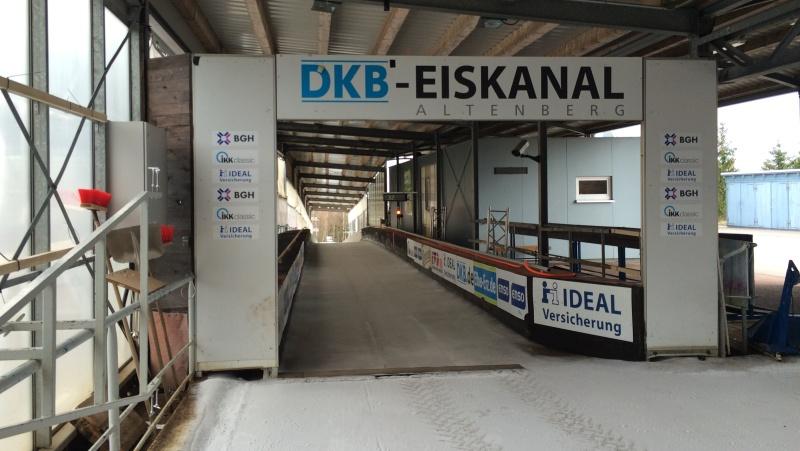 Start, Eiskannal Altenberg | Krušnohorci