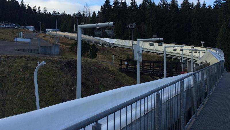 Zimní bobová dráha Eiskanal Altenberg | Krušnohorci