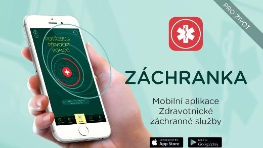 Nová mobilní aplikace ZÁCHRANKA pomůže lokalizovat místo nehody