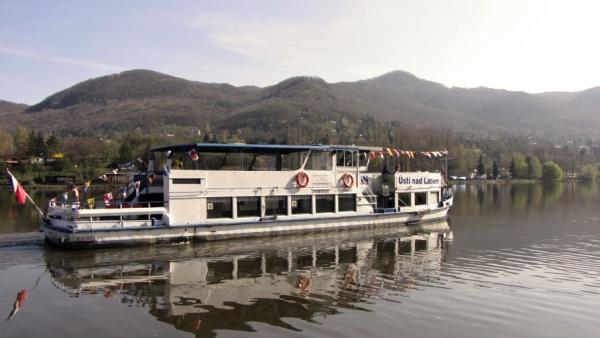 Výlet lodí z Ústí nad Labem do Litoměřic