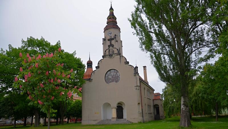 Evangelický kostel s vyhlídkovou věží