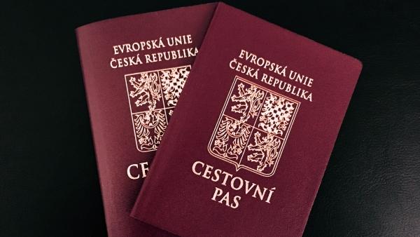 Cestovní doklady dětí při cestách do zahraničí