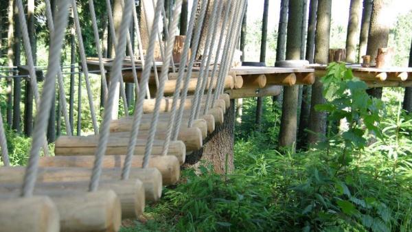Zážitkový lanový park Greifensteine