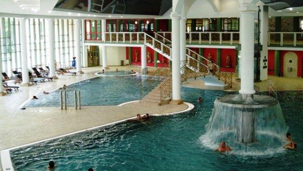 Aquaforum interiér | Aquaforum Františkovy Lázně