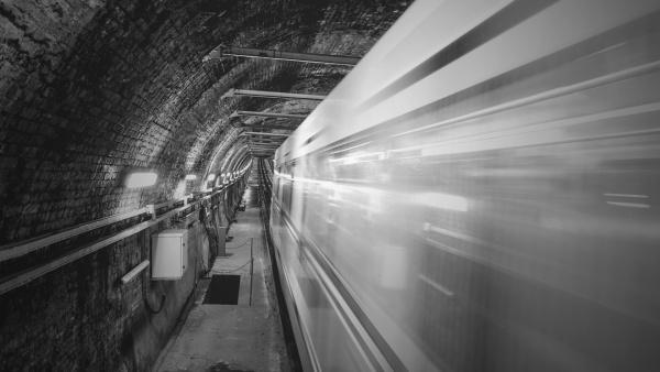 Stanice duchů v chomutovském metru
