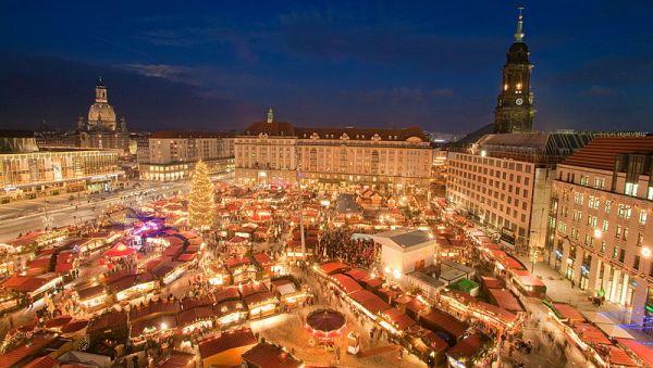 Vánoční trhy v Drážďanech | Torsten Hufsk