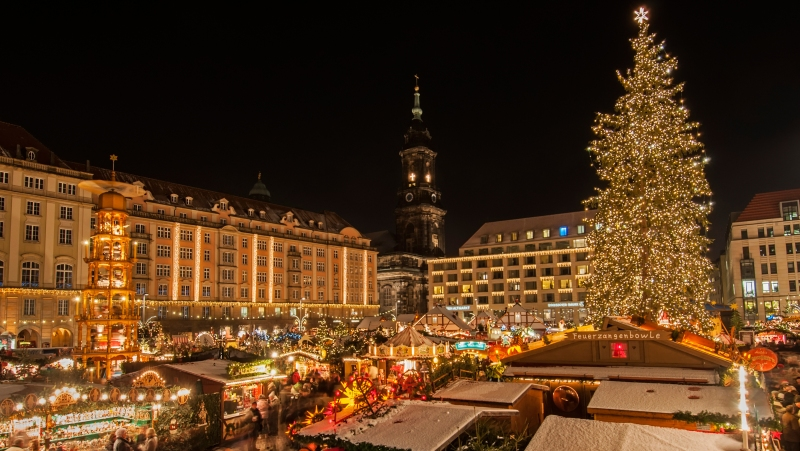 Vánoční trhy v Sasku | Krušnohorci