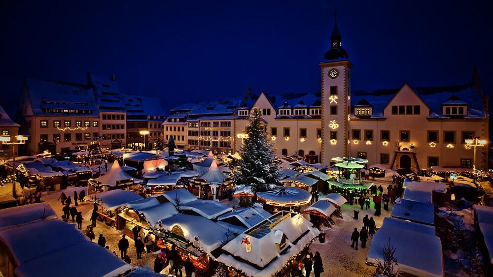 Vánoční trhy Freiberg