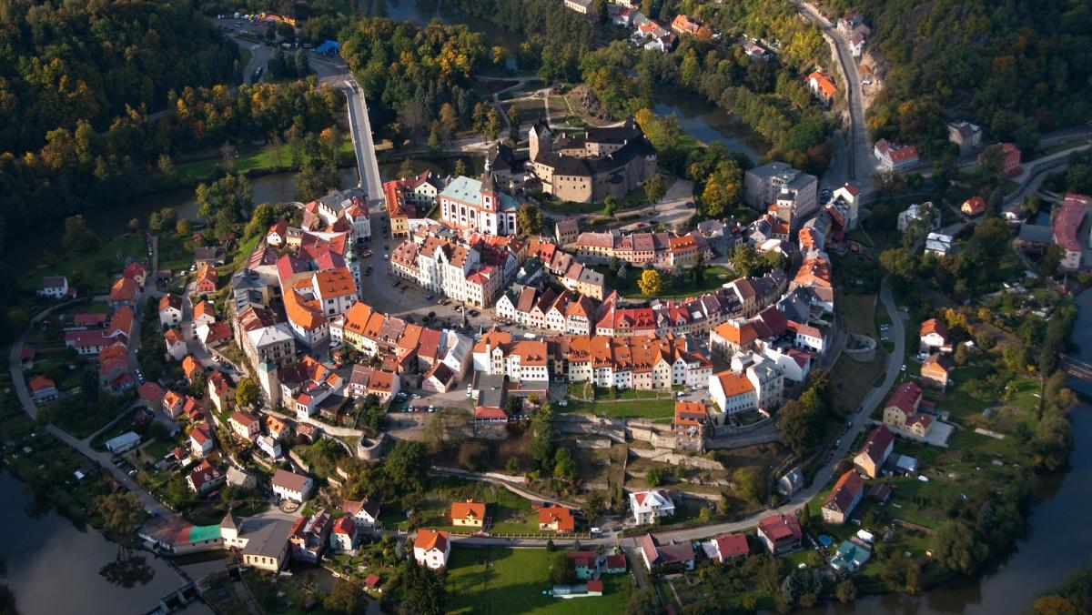 "Historické centrum Lokte   Petr Lněnička, <a href=""http://www.kvpoint.cz/"">www.kvpoint.cz</a>"